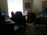 1-1-2011: Todays project. Clean home office