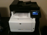 1-22-2011: New color laser printer!