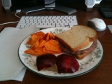 2-9-2011: Lunch at home!