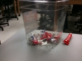 3-11-2011: Someone left us candy