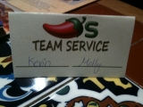 3-19-2011: Takes two to serve us!