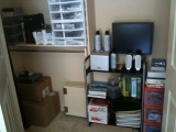 3-20-2011: Newly cleaned closet