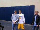 3-5-2011: Shane Heirman - the only player my size