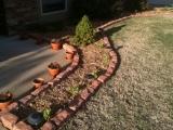 4-11-2011: Yeah, new mulch!