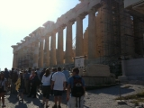 5-14-2011: The Parthenon, its a long walk up here