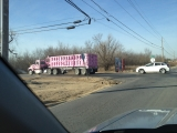 1-19-2012: That is one pink truck
