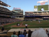 7-31-2012: Finally, a Twins game