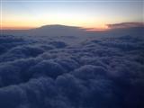 4-17-2013: Bumpy flight, cool view