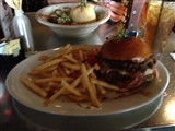 4-8-2013: Now thats a burger!