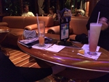 2-26-2014: Having a drink in the Atlantic