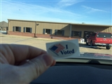 6-24-2014: #58 at my polling place today