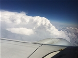 6-5-2014: Going around the storm at 38k feet
