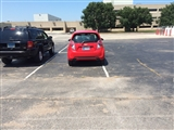 7-25-2014: Has trouble parking