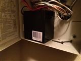 9-11-2014: New battery for alarm, now stop beeping!
