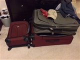 9-9-2014: Suitcases and laundry