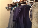 1-16-2016: Drying laundry